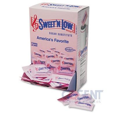 Sweet N Low packets 1g 4/400/cs SMU50150CT
