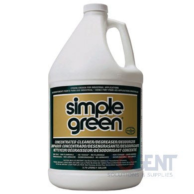 Cleaner/Degreaser Simple Green Ind Str  6gl/cs  043318000003