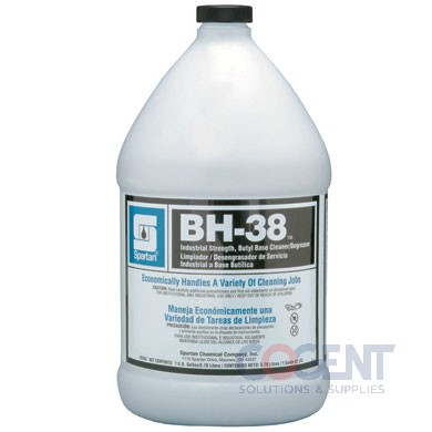BH-38 Butyl Industrial Cleaner Degreaser 4gl/cs