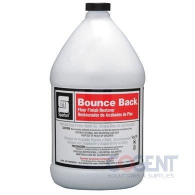 Bounce Back Floor Finish and Restorer 4/gl/cs Spartan   4330