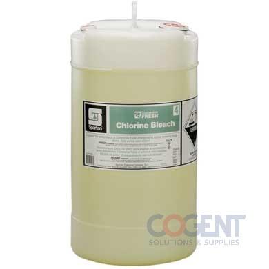 Chlorine Bleach 04 15gal Clothesline Fresh 15gal/pl 7004