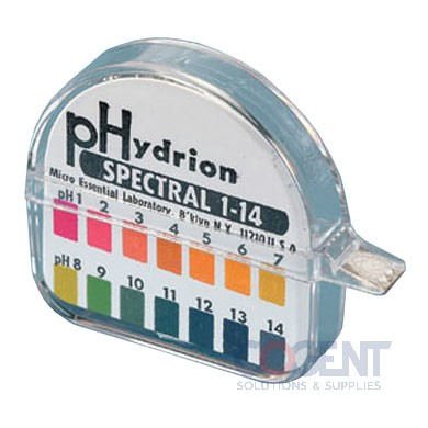 pH Papers/Spectral 1-14 Test Strips 100/rl