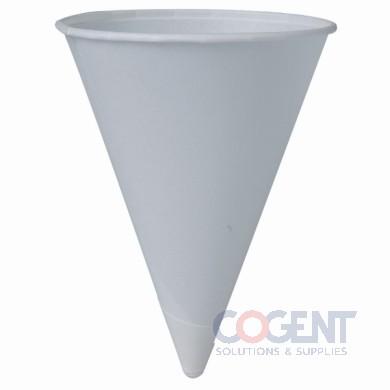 Paper Cone Cup 4-1/4oz 5m/cs