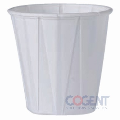Pleated water cup 3.5oz 5m/cs 450-2050