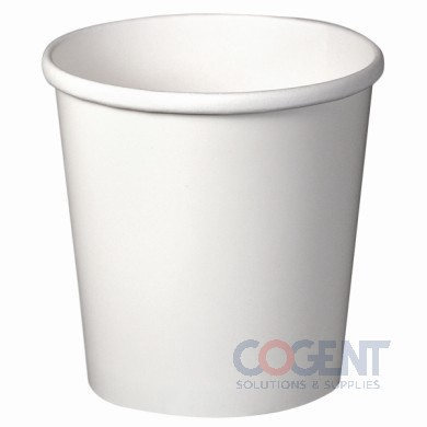 Paper Food Container 16oz White Hot/Cold 25/20 500/cs