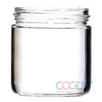 Glass Jar 7.75oz Straight Sided 12/cs R-1207 408cs/PLT400215252