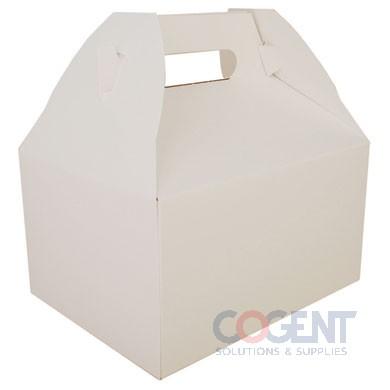Gable Box White 9-1/16x7-1/16x5 125/cs 2715