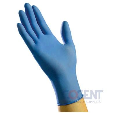 Glove Nitrile Large PF Blue 6mil 1m/cs     NLG6201