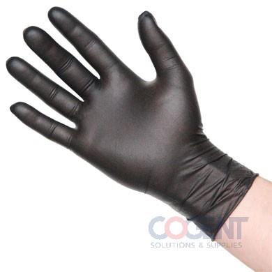 Glove Nitrile Medium Black PF 6mil 1m/cs   NMD720BLK      TDX