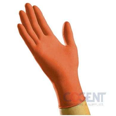 Glove Nitrile X-Large PF Orange 6mil 1m/cs     NXL6201T