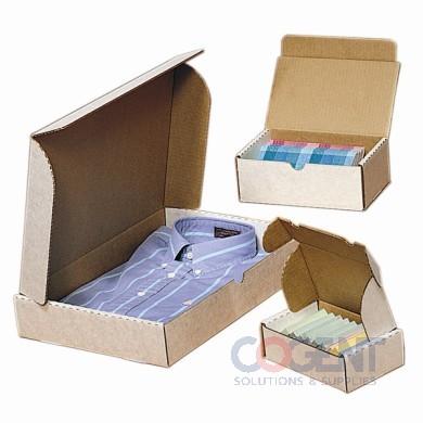 23x13x3-1/2 RETT/DF 3WHT ECT32 Garment Box 25/350 *