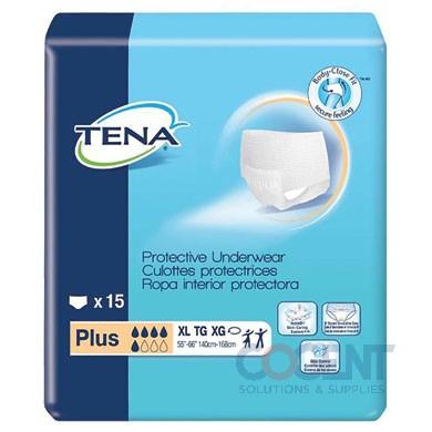 Protective Underwear Plus M 4/18 72/CS 72238 TENA Medium