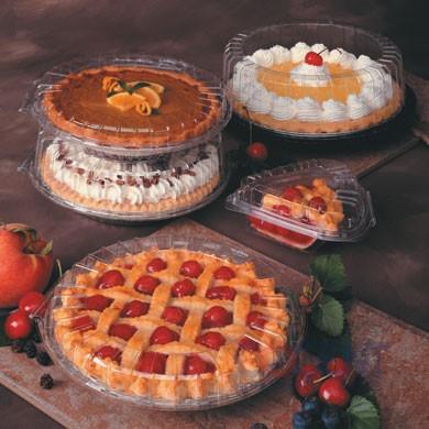 """Pie Cont 10"""" Clr H/L Deep Showpie OPS 100/cs 9710H     PV"""