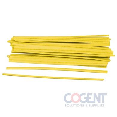 Twist Tie 1/2x12 Yellow Black Organic 10m/cs               TT