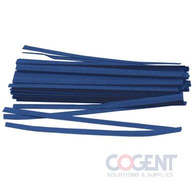 Twist Tie 1/2x20 Blue Paper 3m/cs #44-4000               TT