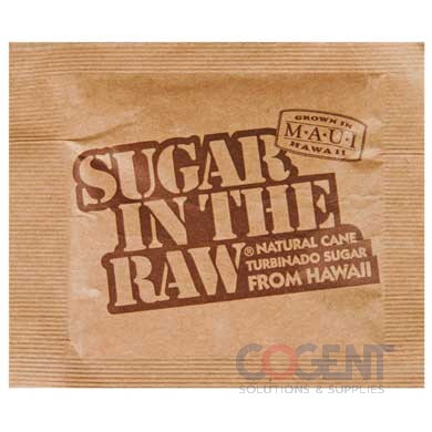 Sugar In The Raw Packets 0.16oz 1200/cs