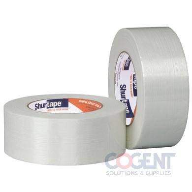 "Strapping Tape 1.5""x180'Wht Fiberglass GS531 24rl/cs    SHU"