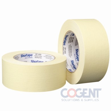 "Masking Tape 2""x60yds 48mmx55m Industrial 24rl/cs"