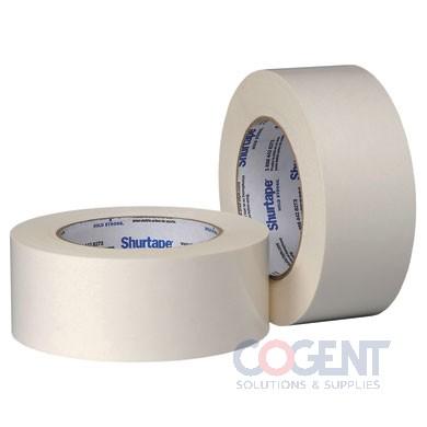 "Flat Paper Tape 1-1/2""x36yd Nat Double Coated DF 065 24rl/cs SH"