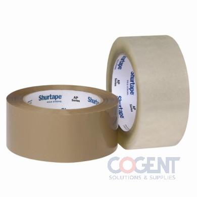 "Box Tape 2""x110yd Clr 2mil Acrylic AP201 36rl/cs       SHU"