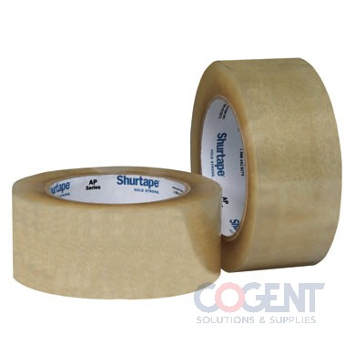 "Box Tape 3""x110yrd     60cs/plt AP301 Acrylic Clr 2.2ml 24rl/cs"