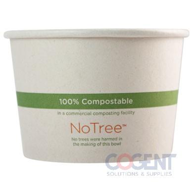 Food Cont 16oz Nat No Tree Paper 10/50/cs BO-SU-16      WC
