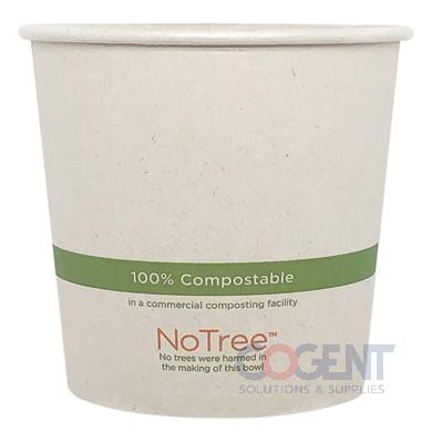Food Cont 24oz Nat No Tree Paper 10/50/cs BO-SU-24      WC