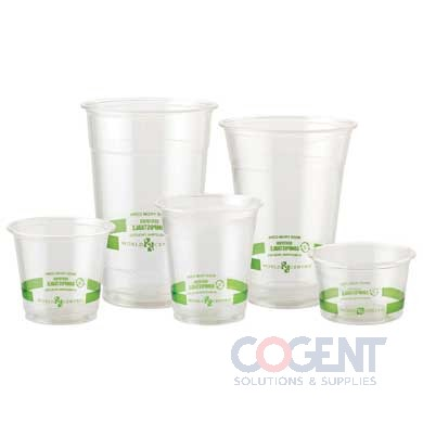 Cold Cup Ingeo 10oz Clear Compostable 1m/cs  CP-CS-10