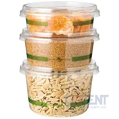 PLA Deli Container 32oz Rnd Clr 500/cs DC-CS-32              WC