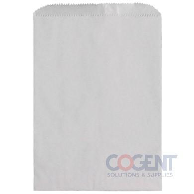 Bag Merchandise 10x2x15 White Kraft   30lb MG   1m/cs