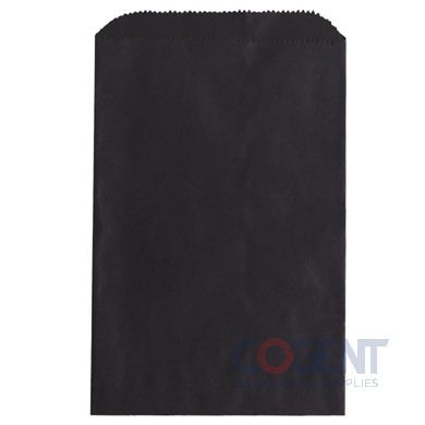 Bag Merchandise Black Kraft 12x2.75x18 500/cs