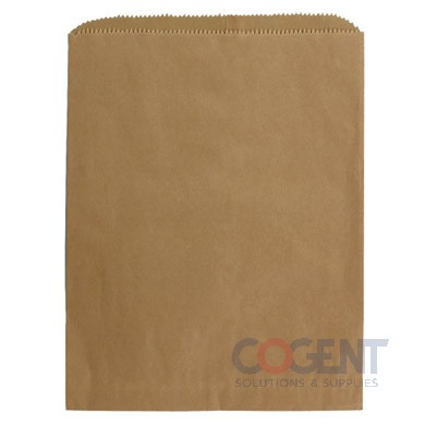 Bag 100% Recycled 16x3-3/4x24 Natural Kraft 40lb MG 500/cs