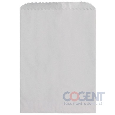 Bag Merchandise White Kraft 6.25x9.25 30# 1m/cs