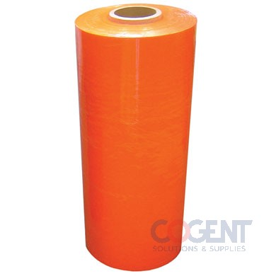 "Stretch Film Identi Film ORANGE 18""x1500' 80ga Tinted 4rls/cs"