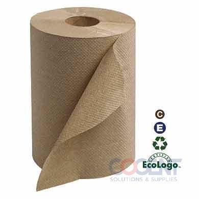 "Hardwound Towel 7.88""x350' Nat H21 1ply 12rls/cs  RK350A   TRK"
