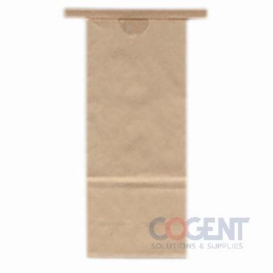 Coffee Bag 5# Kraft TT 6.5x4x18 500/cs CN-5T       ZEN